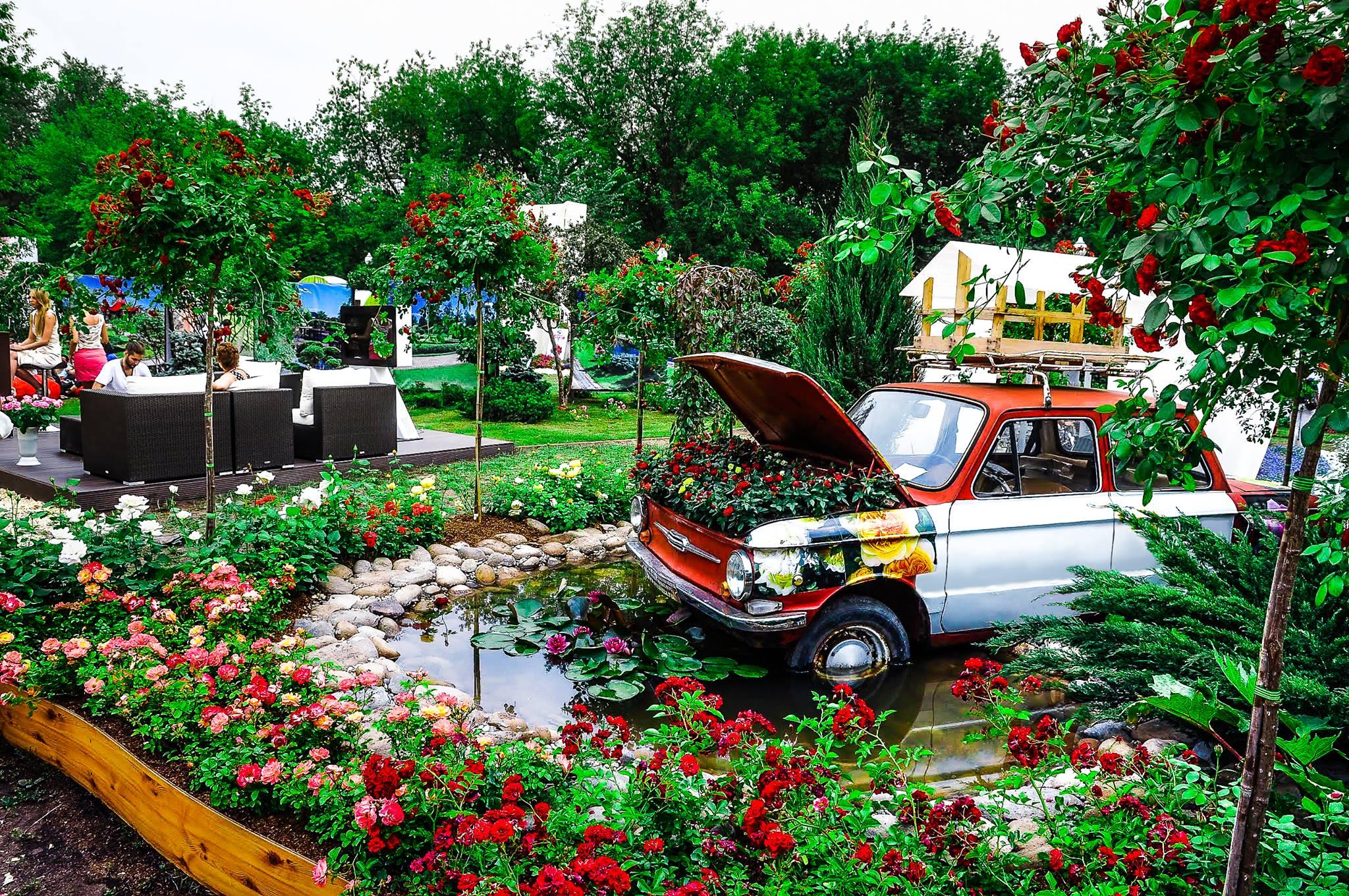 Московский фестиваль садов и цветов фото