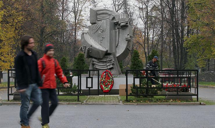 Фанаты «Спартака» провели акцию впамять отрагедии 1982 года