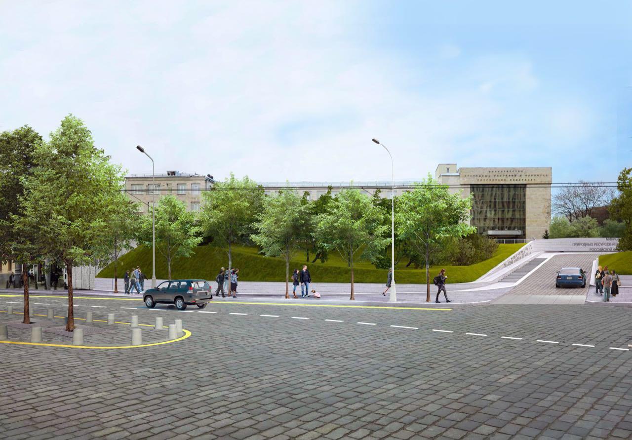 Наплощадь около станции метро «Баррикадная» возвратят историческую плитку