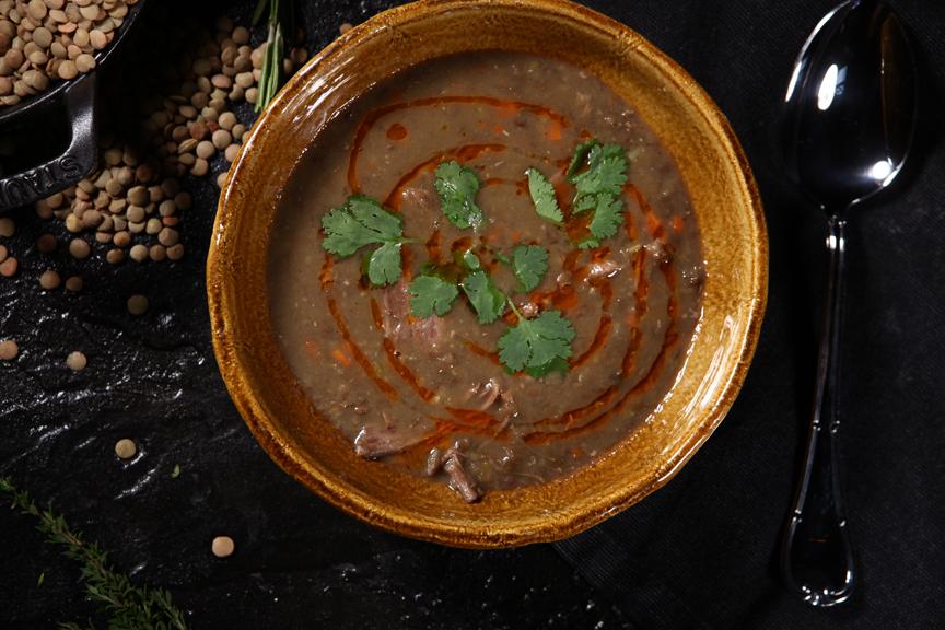 рецепт супа из чечевицы с колбасками