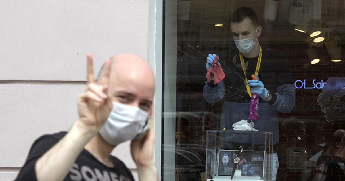 Раскрыта сумма штрафов магазинам Москвы за нарушение масочного режима