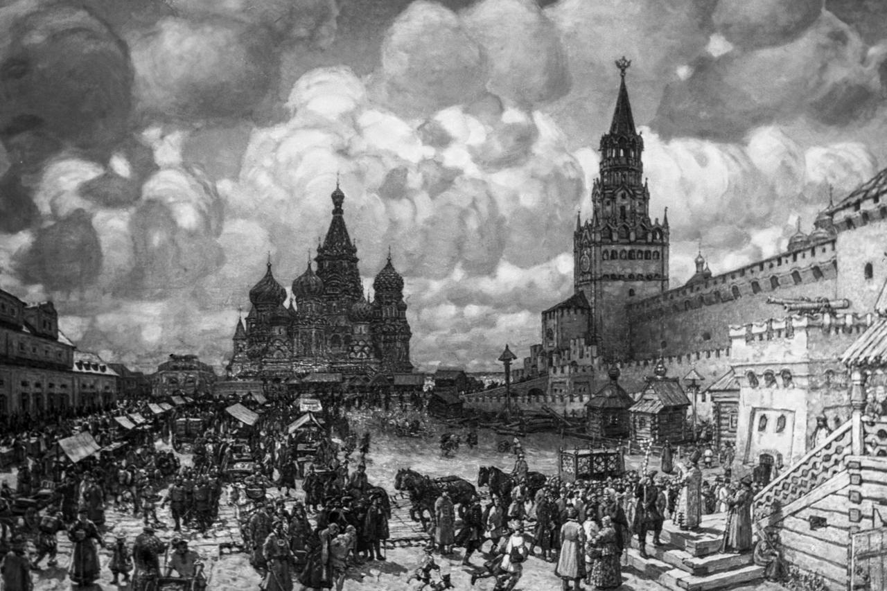 Красная площадь, конец 18 векаИзображение: А. Агапов / РИА Новости9