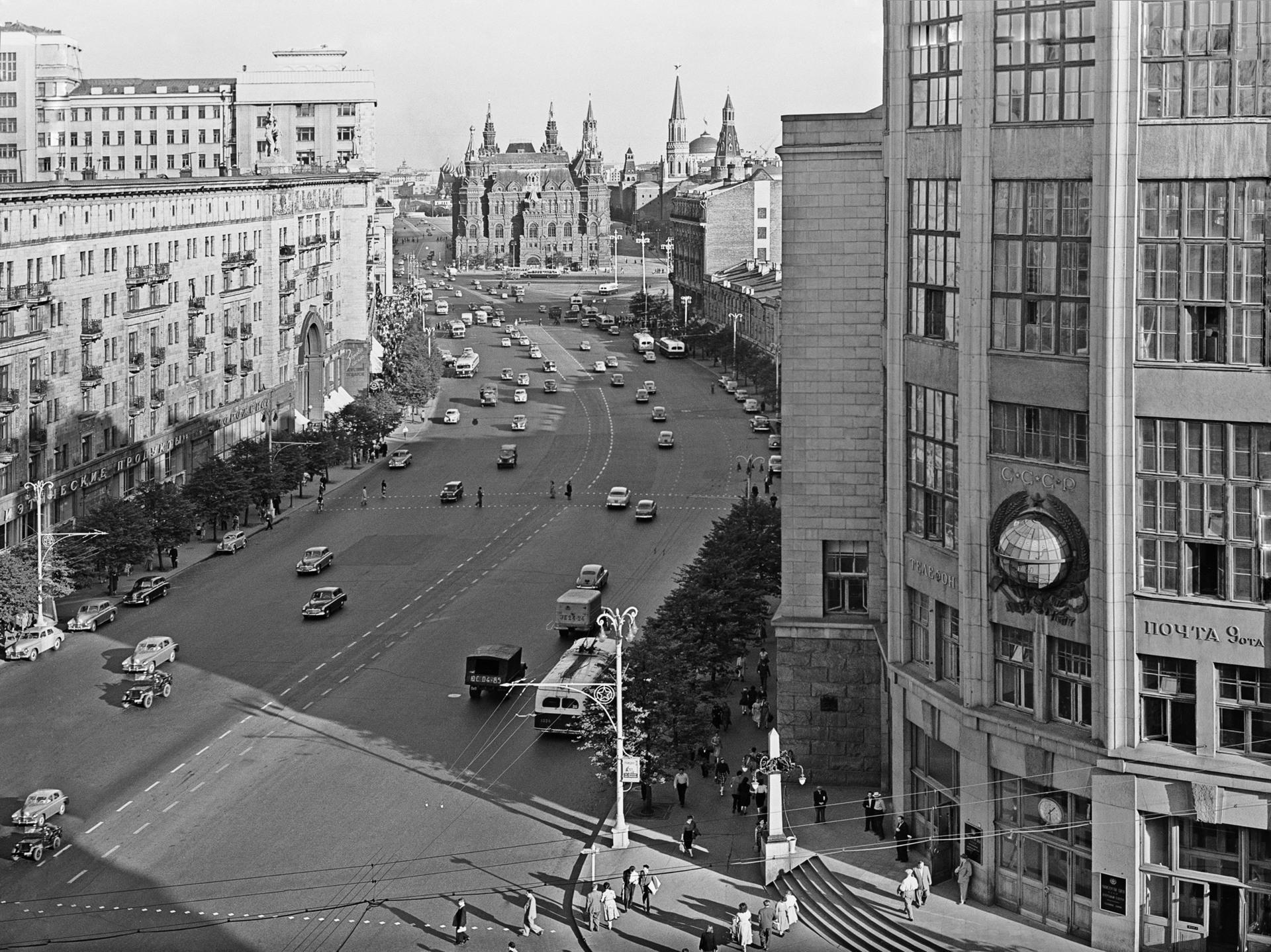 Москвичам стала доступна интерактивная карта столицы 50-летней давности