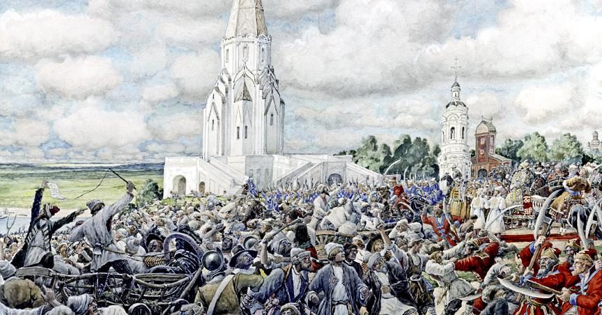 Как Москва взбунтовалась из-за рубля