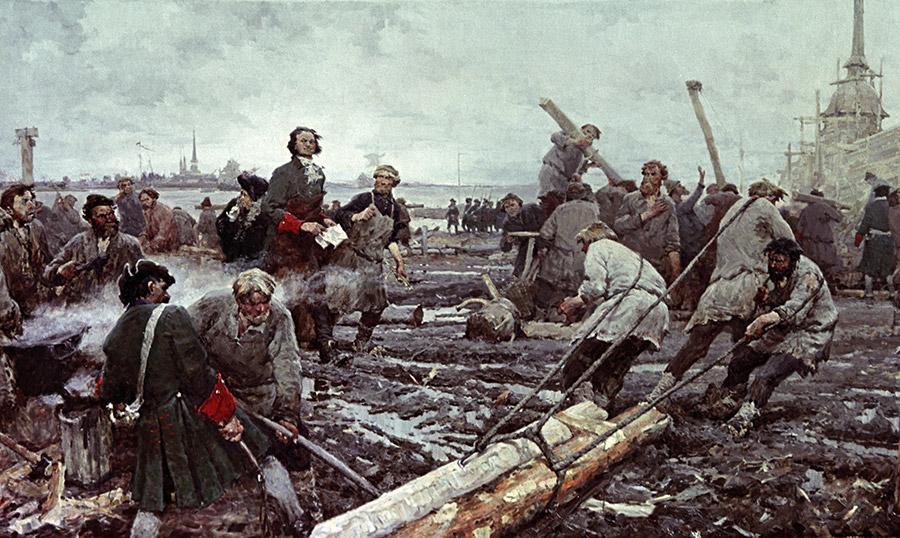 Битва Армий Москвы и Питера